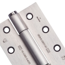 Concealed single axis hinge